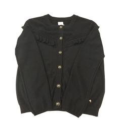 Vest, Cardigan DES PETITS HAUTS Blue, navy, turquoise