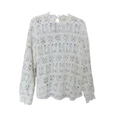 Top, T-shirt BA&SH White, off-white, ecru