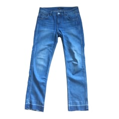 Straight Leg Jeans MAJE Blue, navy, turquoise