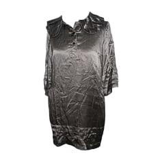 Midi Dress MARC JACOBS Gray, charcoal