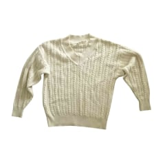 Sweater SALVATORE FERRAGAMO White, off-white, ecru
