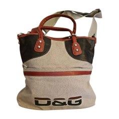 Non-Leather Handbag DOLCE & GABBANA Beige, camel