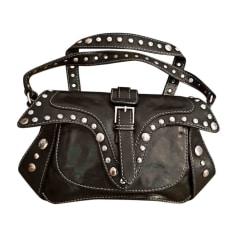 Leather Handbag ROBERTO CAVALLI Black