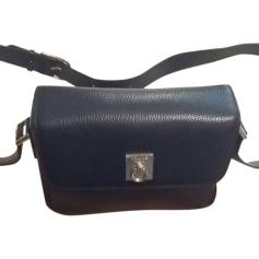 Leather Shoulder Bag CÉLINE Blue, navy, turquoise