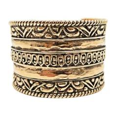 Armband CHANEL Gold, Bronze, Kupfer