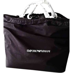 Non-Leather Shoulder Bag EMPORIO ARMANI Black