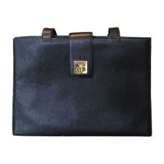 Leather Oversize Bag CÉLINE Black