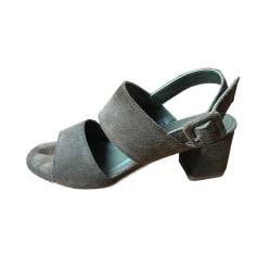 Sandales à talons ANONYMOUS COPENHAGEN Kaki