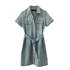 Robe courte COMPTOIR DES COTONNIERS Bleu, bleu marine, bleu turquoise
