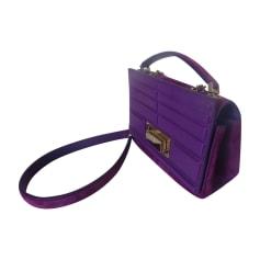 Leather Handbag ELIE SAAB Purple, mauve, lavender