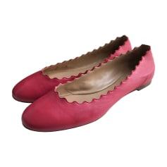 Ballerine CHLOÉ Rosa, fucsia, rosa antico
