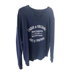 Sweat ZADIG & VOLTAIRE Bleu, bleu marine, bleu turquoise
