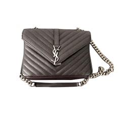 Leather Handbag YVES SAINT LAURENT Black