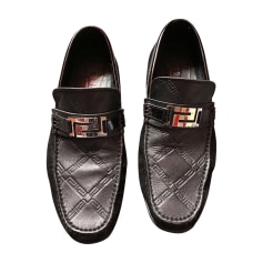 Loafers VERSACE Black