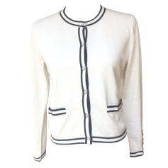 Gilet, cardigan CLAUDIE PIERLOT Bianco, bianco sporco, ecru