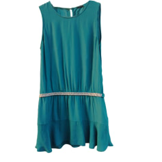 Mini Dress IKKS Green