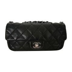 Leather Handbag CHANEL Timeless Black