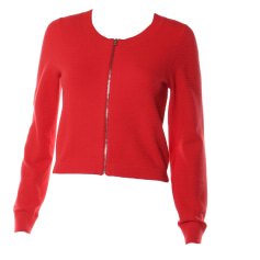 Vest, Cardigan CLAUDIE PIERLOT Red, burgundy