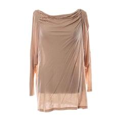 Top, T-shirt VANESSA BRUNO Beige, camel