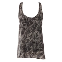 Top, T-shirt THE KOOPLES Gray, charcoal