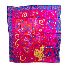 Silk Scarf YVES SAINT LAURENT Multicolor