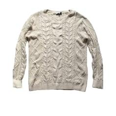 Vest, Cardigan SANDRO White, off-white, ecru