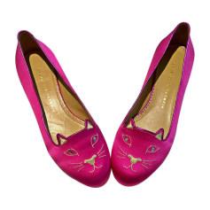 Ballet Flats CHARLOTTE OLYMPIA Pink, fuchsia, light pink