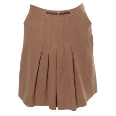 Midi Skirt PABLO DE GERARD DAREL Brown
