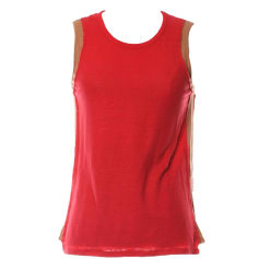 Top, T-shirt SANDRO Red, burgundy