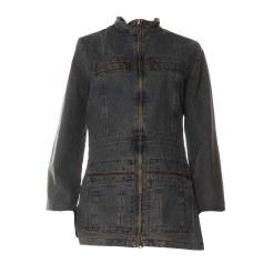 Denim Jacket CHATTAWAK Blue, navy, turquoise