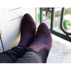 Bottines & low boots à talons ANONYMOUS COPENHAGEN Violet, mauve, lavande