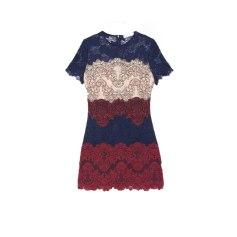Mini-Kleid SANDRO Rot, bordeauxrot