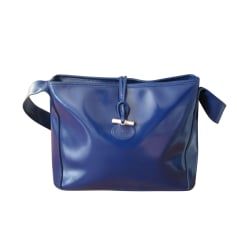 Leather Handbag LONGCHAMP Blue, navy, turquoise