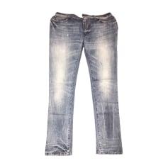 Jeans droit DOLCE & GABBANA Bleu