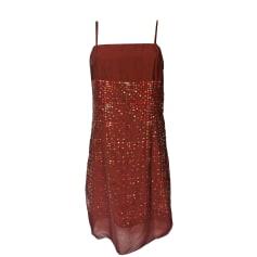 Corset Dress CACHAREL Red, burgundy