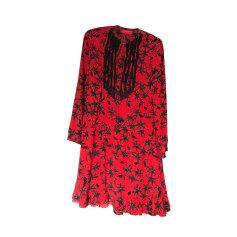 Robe courte ZADIG & VOLTAIRE Rouge, bordeaux