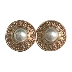 Ohrringe DIOR Gold, Bronze, Kupfer