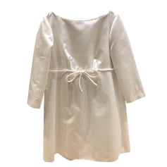 Mini Dress TARA JARMON White, off-white, ecru