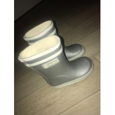 Ankle Boots AIGLE Silver