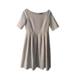 Mini Dress TARA JARMON White, off-white, ecru