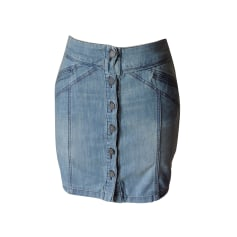 Denim Skirt ZADIG & VOLTAIRE Blue, navy, turquoise