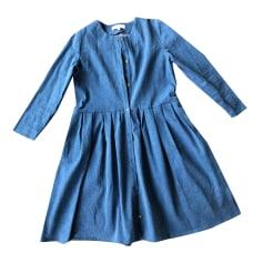 Robe mi-longue BALZAC PARIS Bleu, bleu marine, bleu turquoise