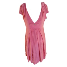 Midi Dress KAREN MILLEN Pink, fuchsia, light pink