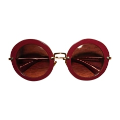 Sunglasses MIU MIU Pink, fuchsia, light pink
