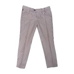 Pantalone dritto GUCCI Multicolore