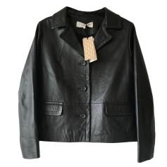 Leather Jacket GERARD DAREL Black