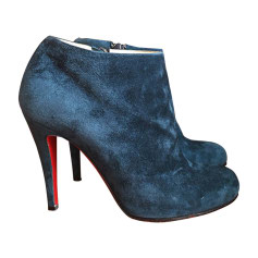 High Heel Ankle Boots CHRISTIAN LOUBOUTIN Blue, navy, turquoise