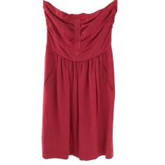 Midi Dress COMPTOIR DES COTONNIERS Pink, fuchsia, light pink