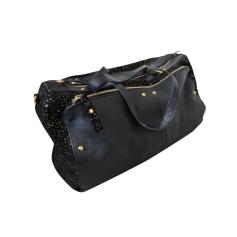 Leather Oversize Bag PETITE MENDIGOTE Black