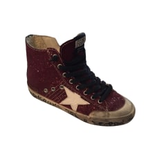 Sneakers GOLDEN GOOSE Red, burgundy